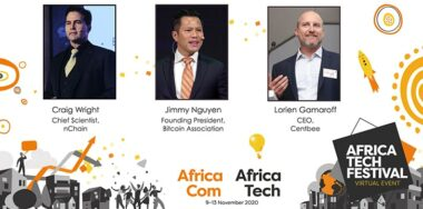 Craig Wright, Jimmy Nguyen, Lorien Gamaroff talk Bitcoin SV at Africa Tech Festival