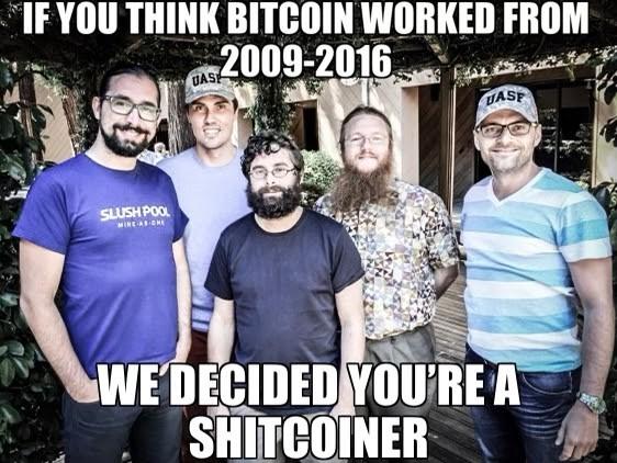 Bitcoin 2009-2016
