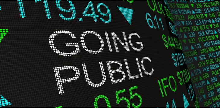 Coinbase is going public