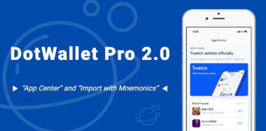打点钱包Pro 2.0发布:应用中心强势出击
