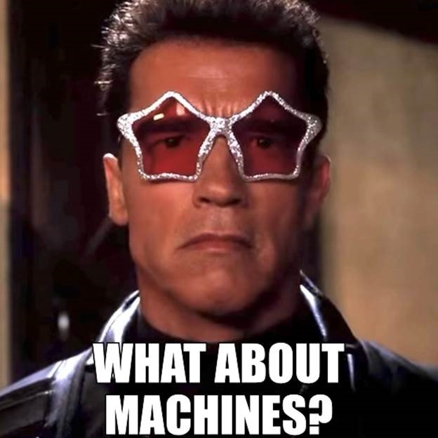 What about machines? Meme