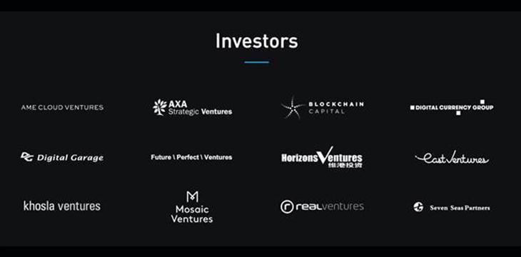 Blockstream's Venture Investors