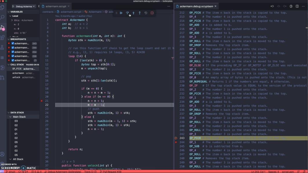 sCrypt code