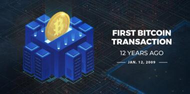 12 years ago, Satoshi Nakamoto sent Hal Finney 10 bitcoins—the first transaction