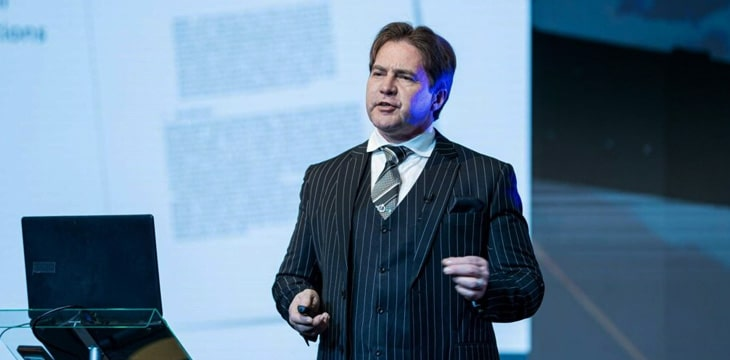 Craig Wright on 'strategic advantage and finding opportunities'