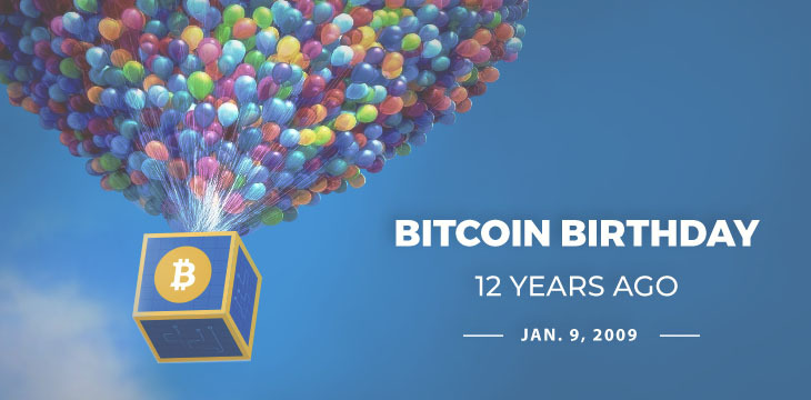 Happy Birthday Bitcoin! Original software released 12 years ago today
