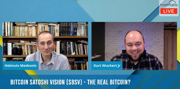 Kurt Wuckert Jr. on HostMaria: Bitcoin SV has restored Satoshi's original vision - CoinGeek