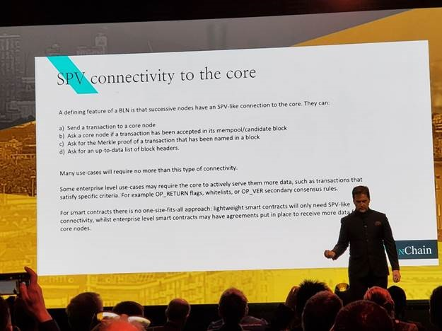 SPV connectivity to the core