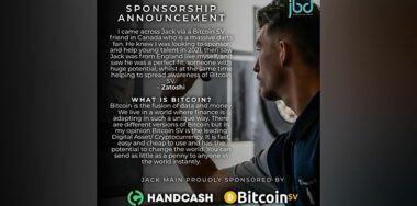 Zatoshi and HandCash sponsor UK darts player Jack Main