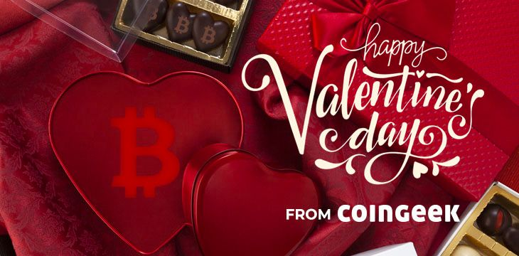 Every day is Valentine's Day with Bitcoin
