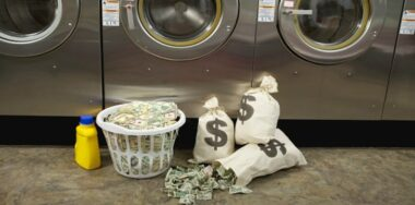 Five service providers launder a majority of digital currency