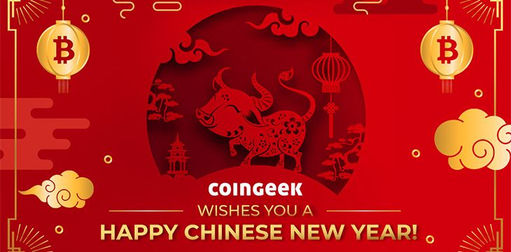 Happy Lunar New Year! In Bitcoin, be like the Ox
