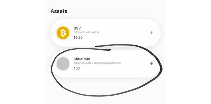 ShuaCoin, Bitcoin's first token on Fabriik SFP Protocol