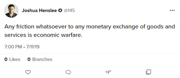 Joshua Henslee tweet