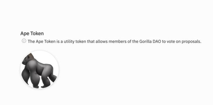 Gorilla DAO: The beginning of a billion-dollar organization