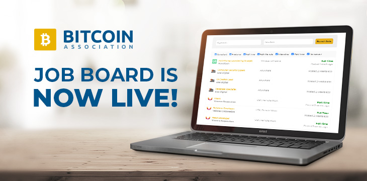 Looking for a job in blockchain? Bitcoin Association jobs board has got you covered