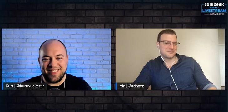 Ardian Tola talks Arkstreams, Canonic on special pop-up CoinGeek Livestream