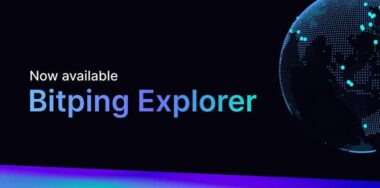 Bitping Explorer gives an animated, real-time view of network performance—and earnings