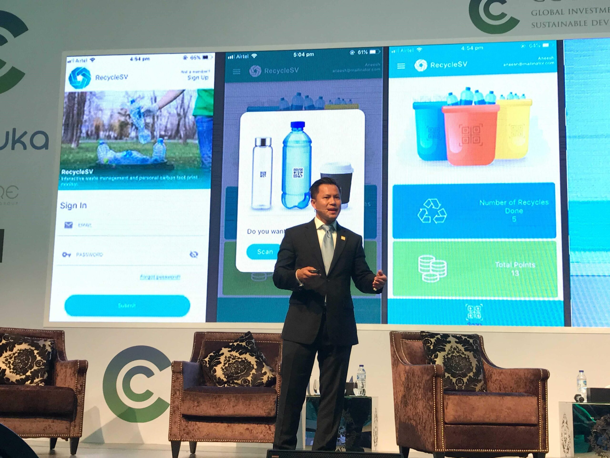 Jimmy Nguyen at the CC Forum in Dubai