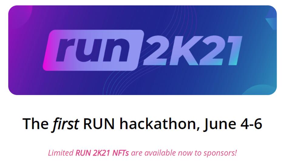 Run 2K21 logo