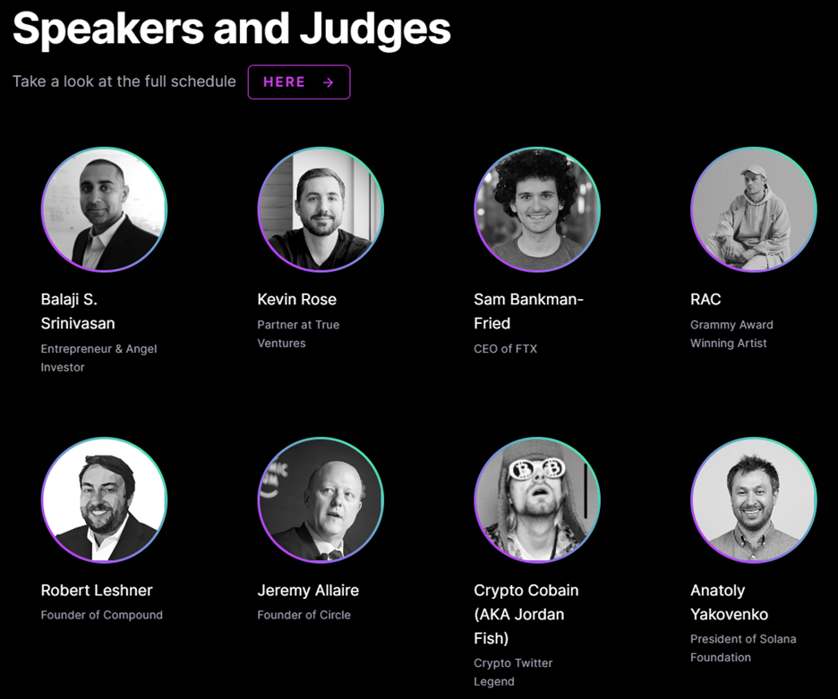 Speakers and Judges