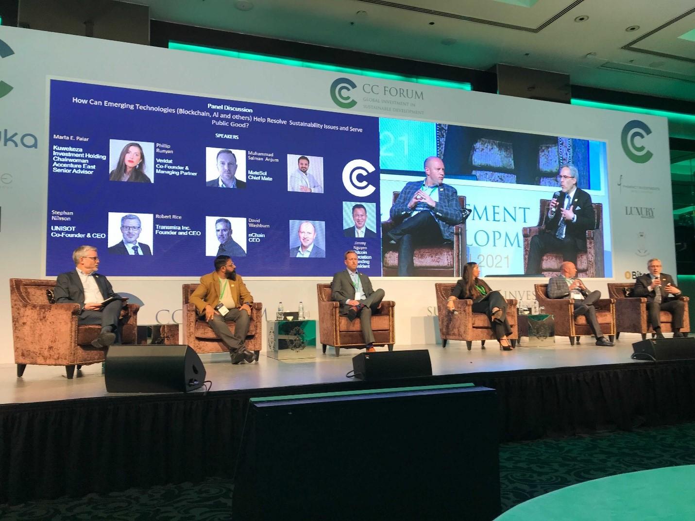Speakers of Bitcoin SV at CC Forum in Dubai