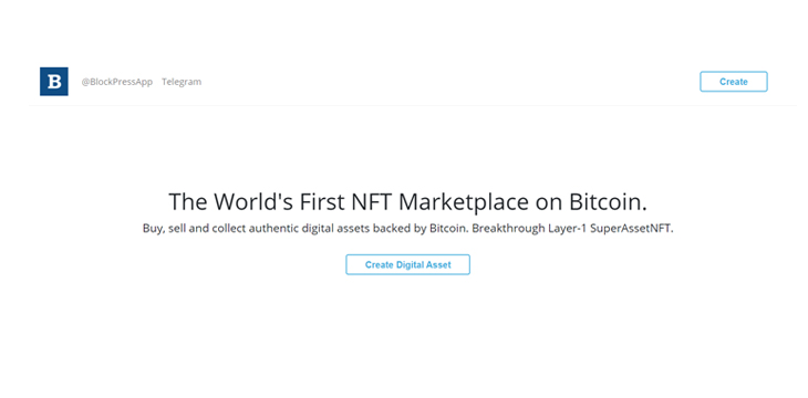 BlockPress: the easiest way to create NFTs on Bitcoin