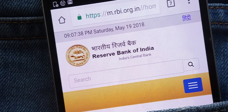 Reserve Bank of India warns banks to cut all ties with digital currency exchanges