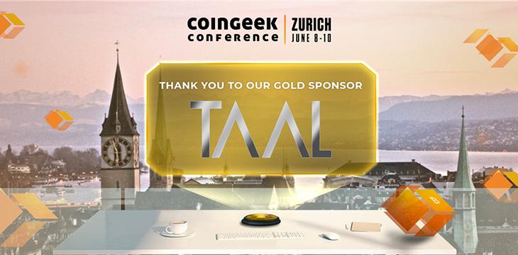 CoinGeek Zurich 2021 sponsor spotlight: STAS tokens coming soon at TAAL
