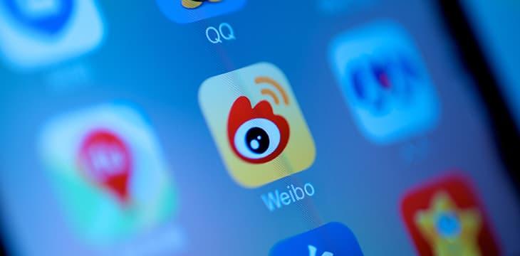 China social media platform Weibo bans digital currency-promoting influencers