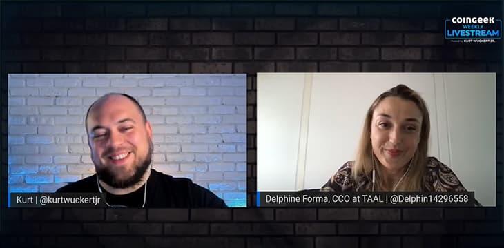 Delphine Forma talks navigating regulatory landscape for blockchain on CoinGeek Weekly Livestream special
