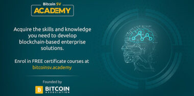 Bitcoin SV Academy: Get Certificate 1 level qualification with 'Introduction to Bitcoin Theory' course