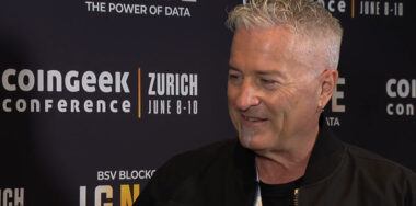 Calvin Ayre joins CoinGeek Backstage in Zurich: BSV is about solving data problems