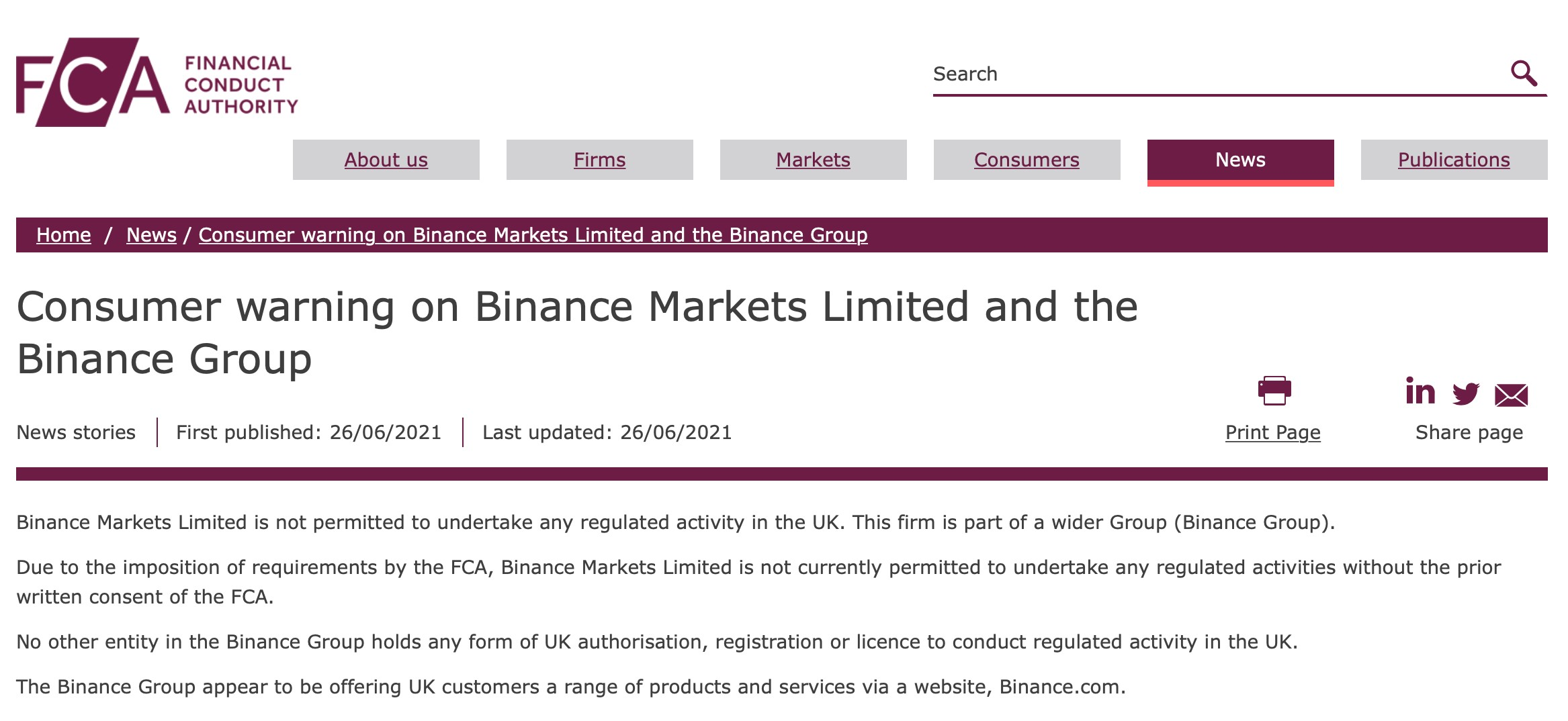 Is Binance being delisted by banks?