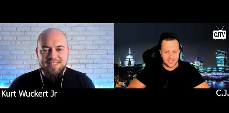 Kurt Wuckert Jr returns to CJTV for to expose 'fake Bitcoin, puppet masters and darknet money flow' - CoinGeek