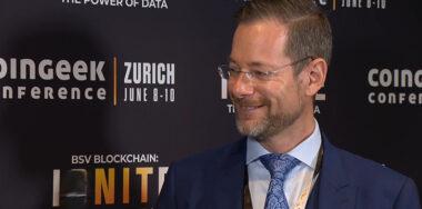 CoinGeek Backstage:SNGLR的Daniel Diemers谈论了区块链在金融服务行业的状况