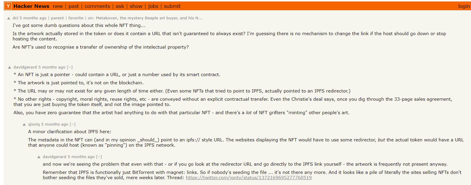 NFT craze = Dot Com Bubble 2.0