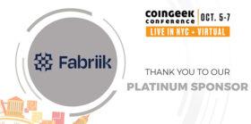 """聚焦CoinGeek纽约大会赞助商Fabriik:""""我们专注于提供解决潜在需求的产品"""""""