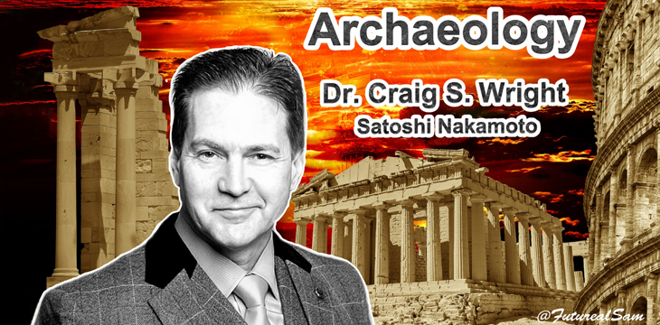 Craig Wright on archaeology, Bitcoin and money as memory