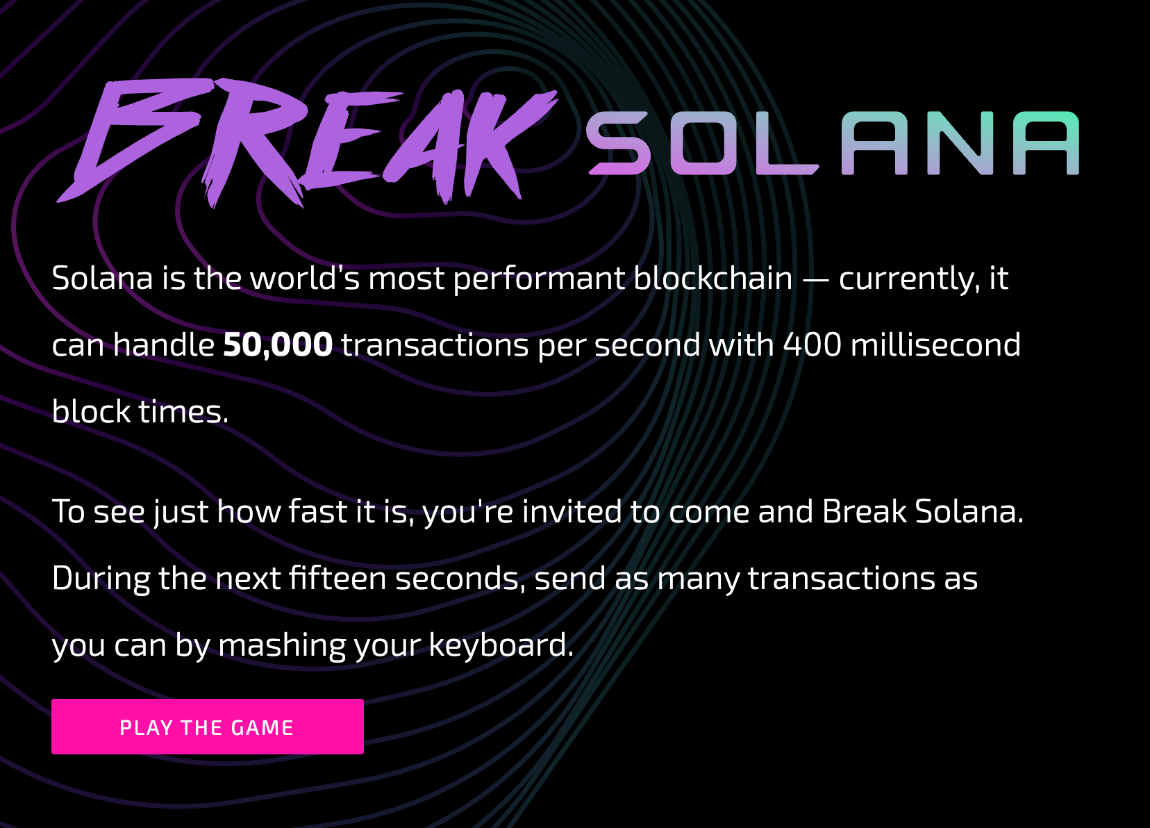 Solana: Just reboot it