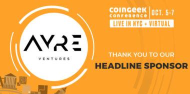 CoinGeek NYC sponsor spotlight: Why Ayre Ventures is focused on developments in BSV space