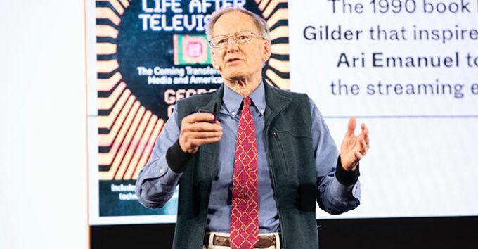 George Gilder tells investors: Adopt BSV, bet on the blockchain with Satoshi