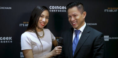 Jimmy Nguyen on CoinGeek Backstage: 'Everything blended with the theme perfectly'