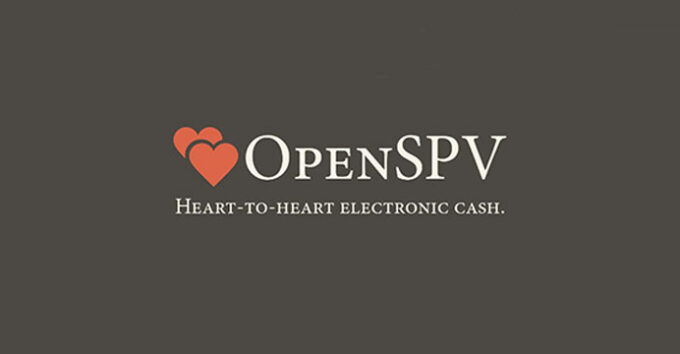 OpenSPV to fulfill Bitcoin's promise of fast, secure, P2P transactions