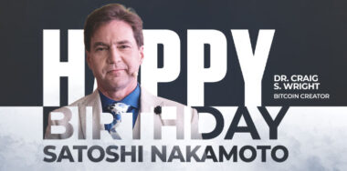Happy Birthday Satoshi Nakamoto!