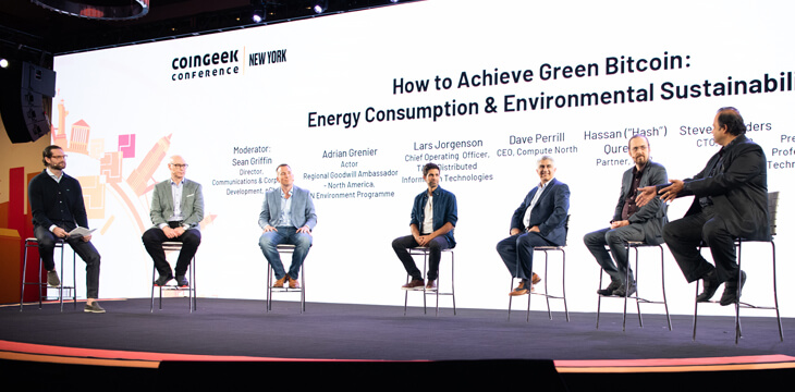How to achieve green Bitcoin: Energy consumption & environmental sustainability at CoinGeek New York