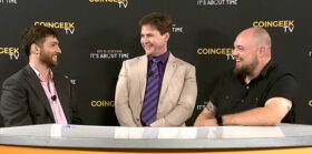Satoshi poker chip and Craig Wright's gaming origins: CoinGeek TV pops champagne to wrap up New York conference